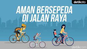 Aman Bersepeda di Jalan Raya