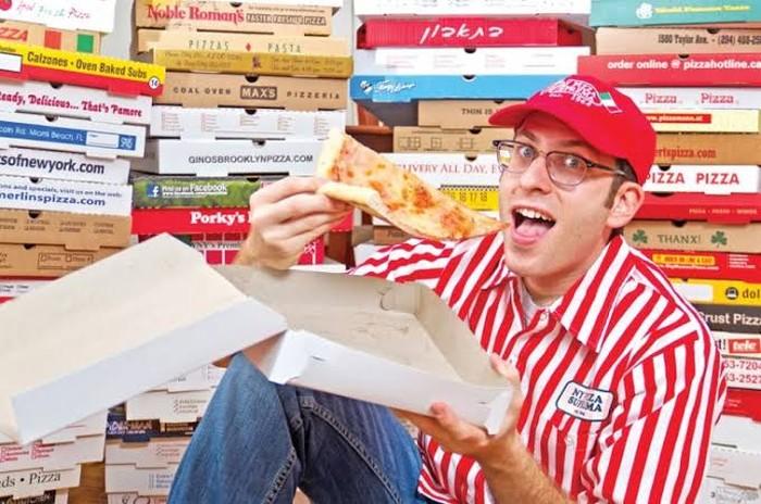 koleksi kotak pizza