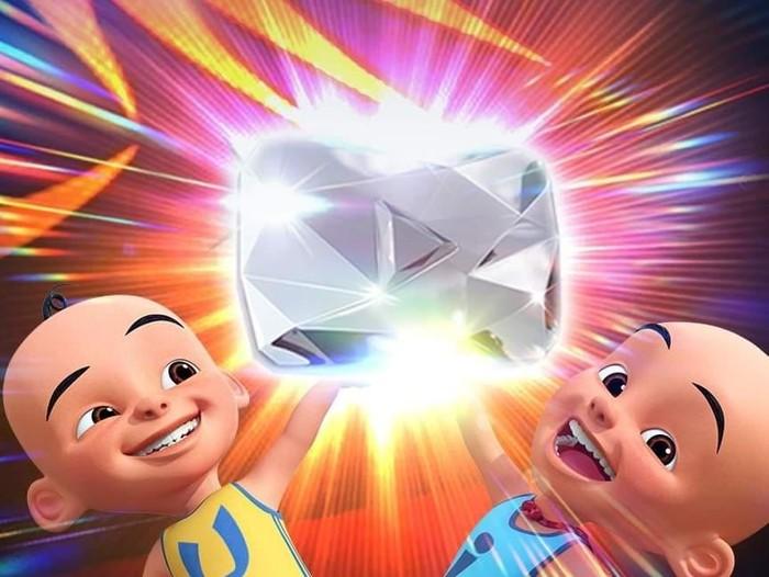 Les Copaque Production, channel YouTube Upin & Ipin baru saja meraih Diamond Play Button alias 10 juta subscribers.