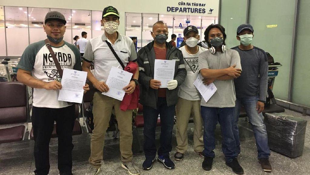 KBRI Hanoi Pulangkan 6 ABK WNI yang Tertahan di Vietnam