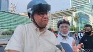 MRT-TransJakarta Layang Disambung, Anies Ungkit Rancangan Awal