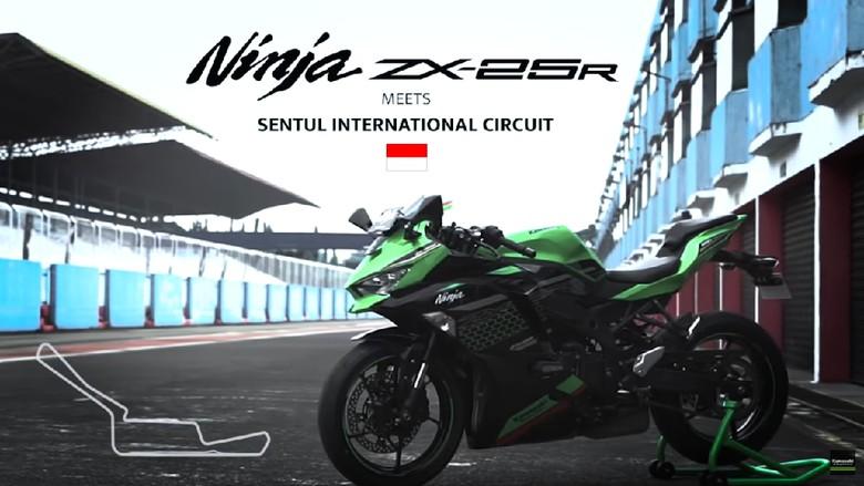 Kawasaki Ninja ZX-25R dites di Sirkuit Sentul