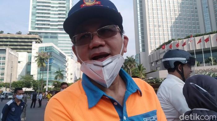Kepala Dinas Perhubungan DKI Jakarta Syafrin Liputo