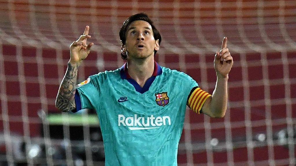 Messi Raja Gol di LaLiga?