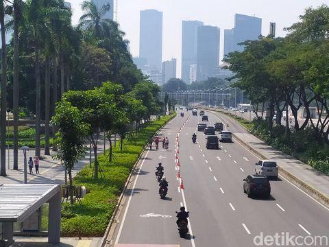 pop up bike lane jalur sepeda
