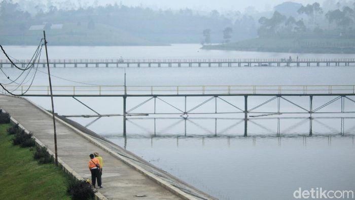Danau di Pengalengan, Bandung Selatan.