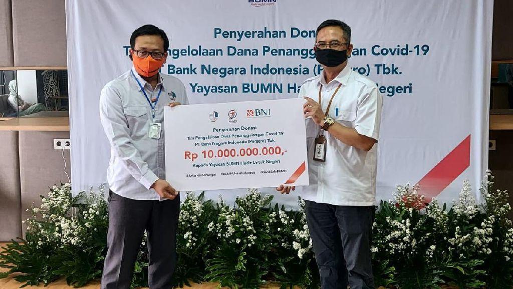 Gandeng Yayasan BUMN, Ini Aksi Sosial Pegawai BNI Lawan COVID-19