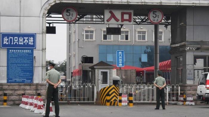 Covid-19: Beijing takutkan gelombang kedua setelah temukan kasus baru di pasar