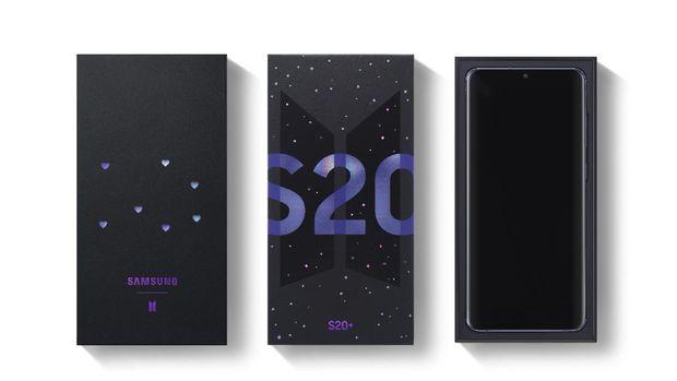 Galaxy S20+ BTS