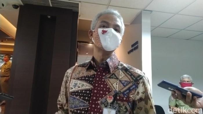 Gubernur Jawa Tengah Ganjar Pranowo, Senin (15/6/2020).