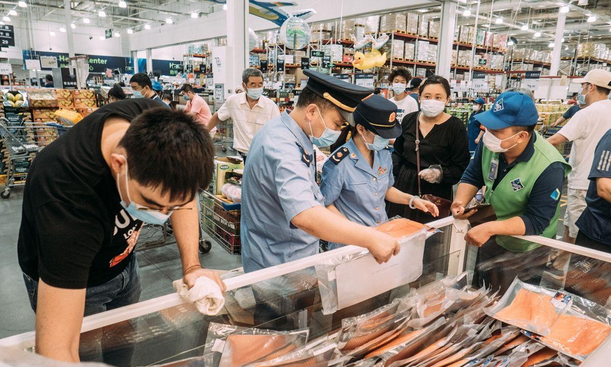 Ikan Salmon di Beijing