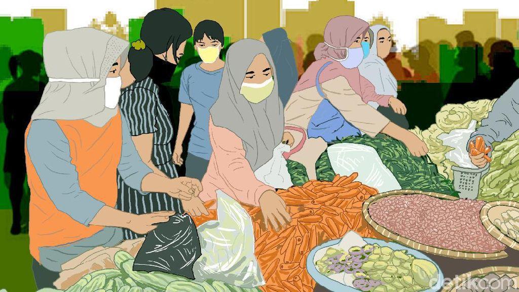 Perwali Pembatasan Orang di Makassar, Tak Pakai Masker Disanksi Sosial