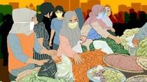 Cegah COVID-19, Pasar di Pinrang Sulsel Terapkan Ganjil-Genap Untuk Pedagang