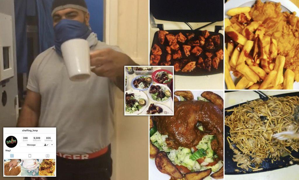 Narapidana Pamer Makanan di Penjara