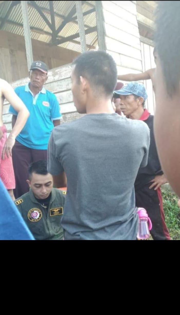 Pilot pesawat Hawk 200 yang jatuh di Kampar, Riau.