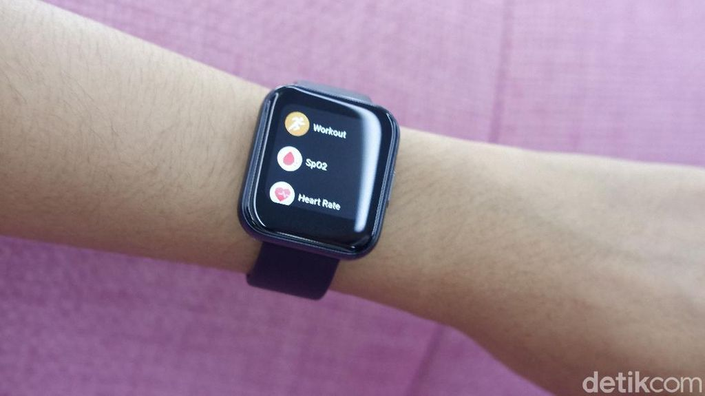Realme Watch, Smartwatch Ringan Harga Murah Meriah