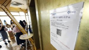 Canggih! Restoran Ini Pakai Sistem Kode QR untuk Deteksi Virus Corona