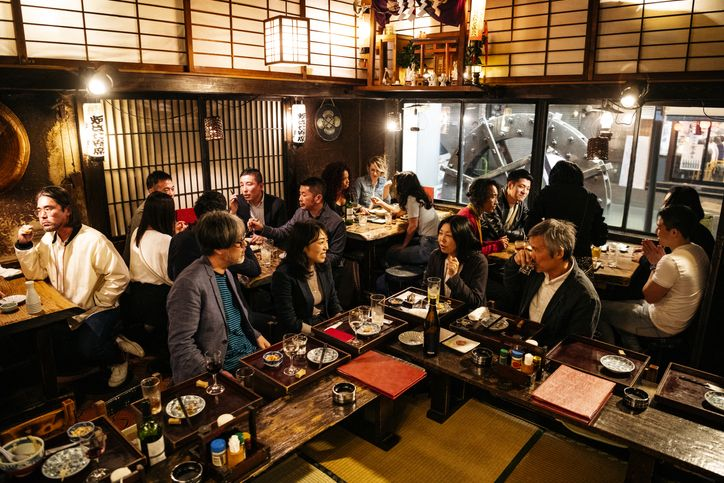 Restoran di Jepang pasang sistem kode QR untuk detekso virus corona