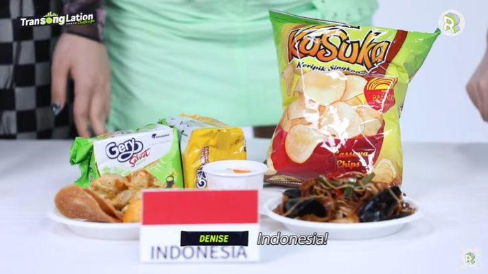 Idol Korea Cicip Snack Indonesia