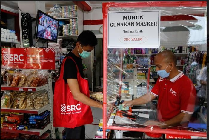 Tangkapan fotografer di SRC Salim Jakarta