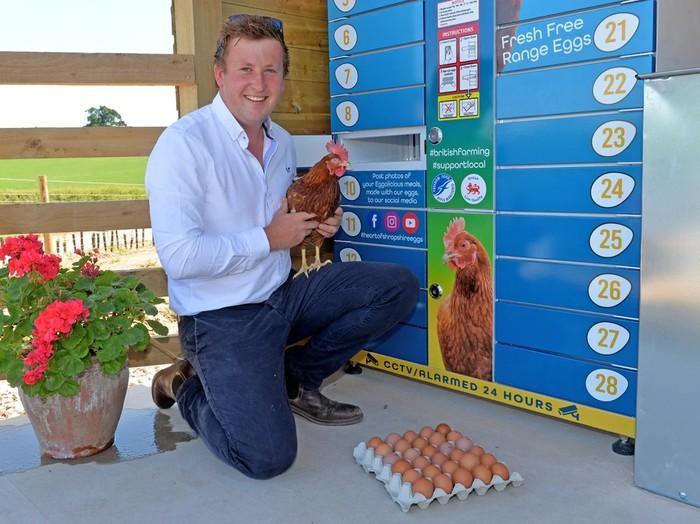 Eggcellent, Vending Machine yang Tawarkan Telur