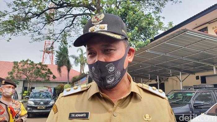 Wakil Wali Kota Bekasi Tri Adhianto (Isal Mawardi/detikcom)