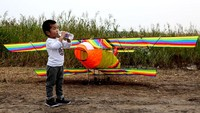 Di China, ada Festival Layang-layang Internasional Rudong China. VCG/VCG via Getty Images