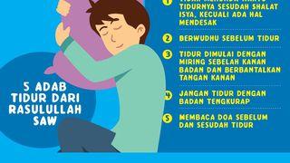 5 Adab Sebelum dan Sesudah Tidur yang Diajarkan Rasulullah SAW