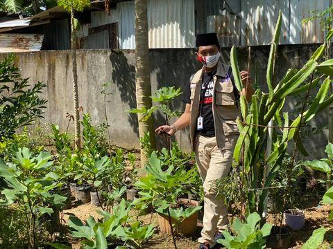 Arief Rosyid, Ketua Pemuda Dewan Masjid Indonesia dan kebun masjid