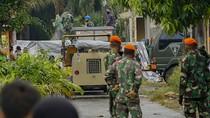 Bangkai Pesawat Tempur Hawk 200 Dievakuasi TNI