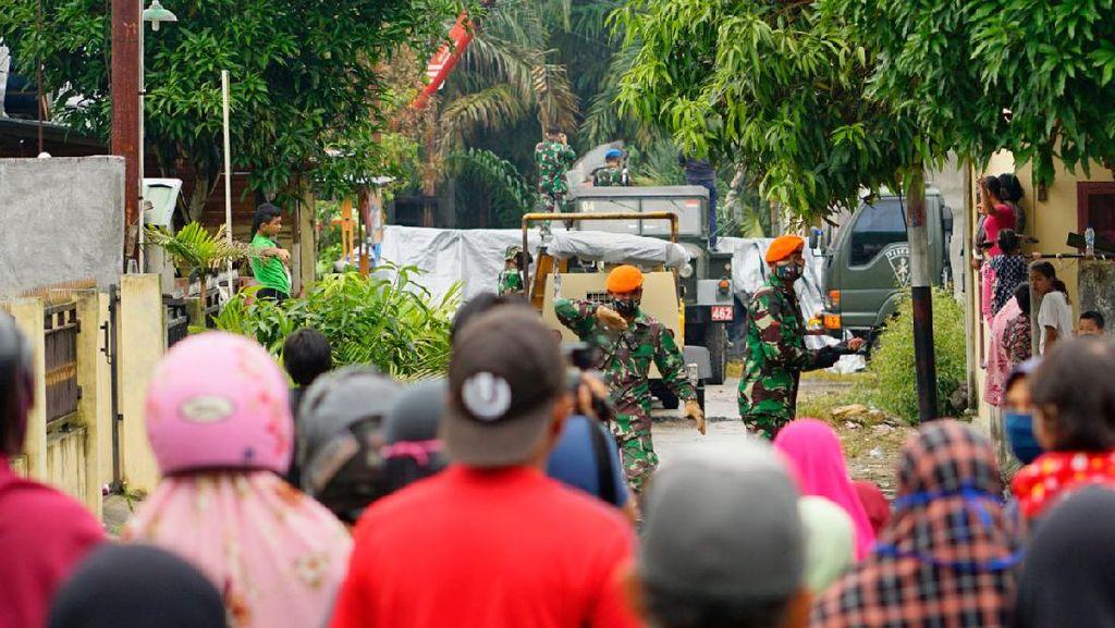 Bodi Jet Tempur AU yang Jatuh di Kampar Riau Akhirnya Dievakuasi
