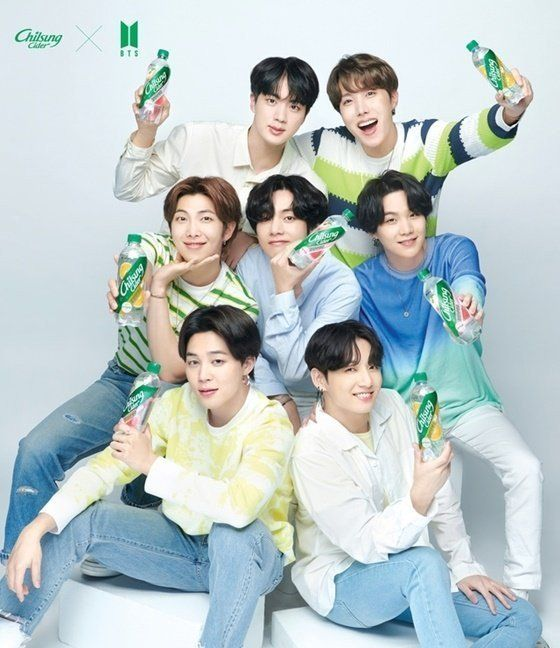 BTS x Lotte Chilsung Cider