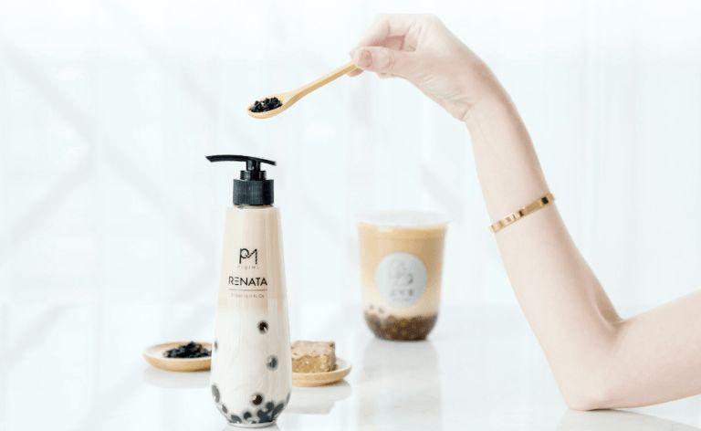 Produk Kecantikan dengan Kreasi Bubble Tea