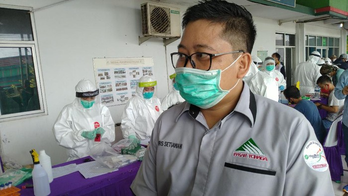 Direktur Utama PD Pasar Tohaga, Haris Setiawan.