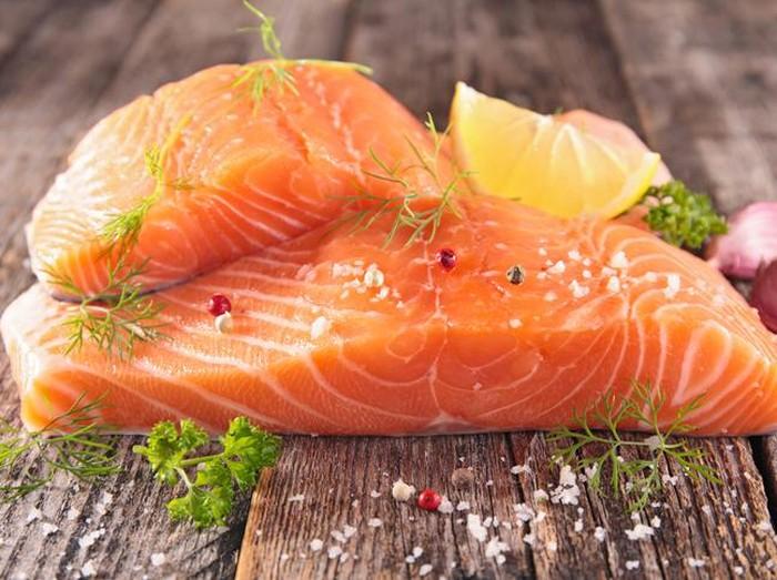 Manfaat Ikan Salmon. Foto: iStock
