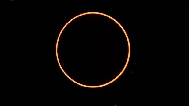 Gerhana matahari cincin (Dok BMKG)