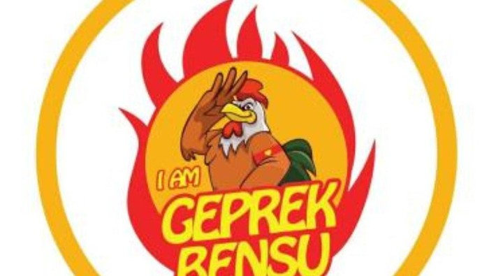 Logo Geprek Bensu dan I Am Geprek Bensu