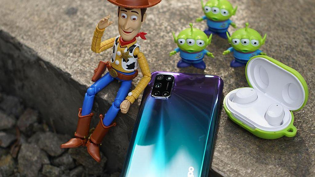 Asyik, Beli OPPO A92 Aurora Purple Bisa Dapat Enco W11 Toy Story