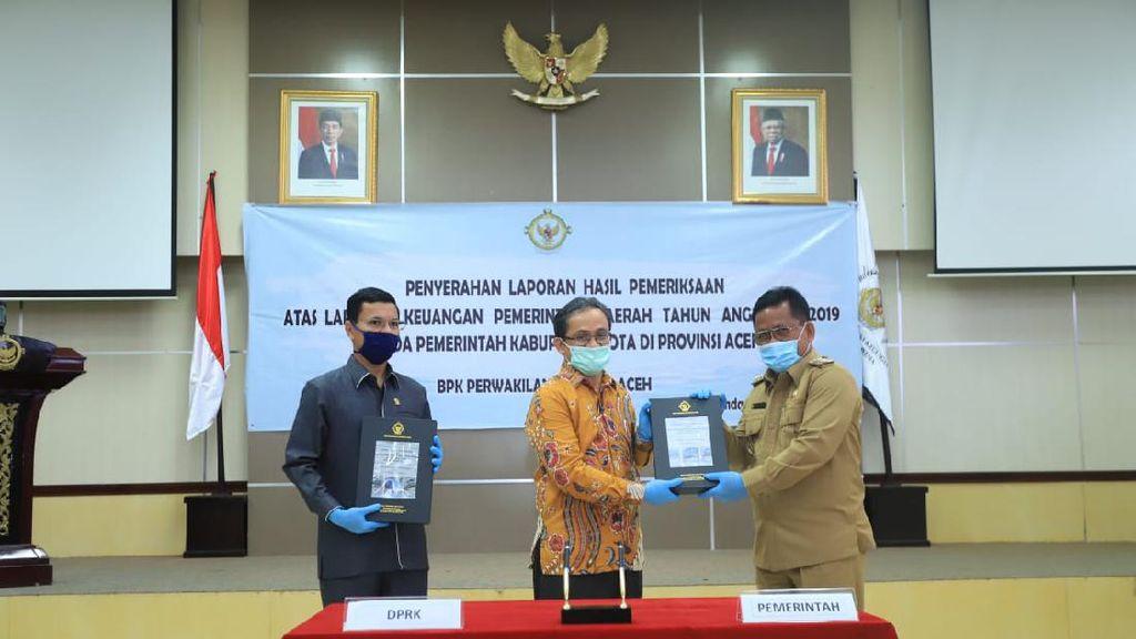 12 Kali Berturut-turut, Banda Aceh Pertahankan Opini WTP BPK