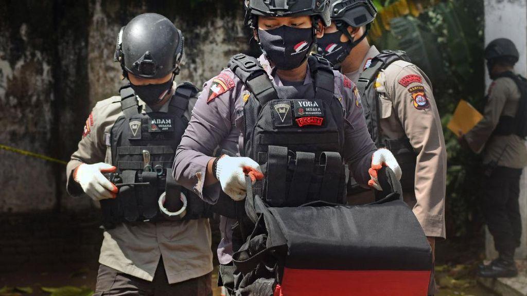 Polisi di Banten Amankan Mortir Aktif Peninggalan Perang