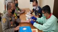 Bantu Stok Darah PMI di Tengah Corona, 400 Polisi Subang Lakukan Donor