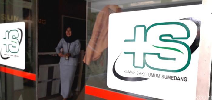 RSUD Sumedang masih membatasi pengunjung meski sudah memasuki era new normal