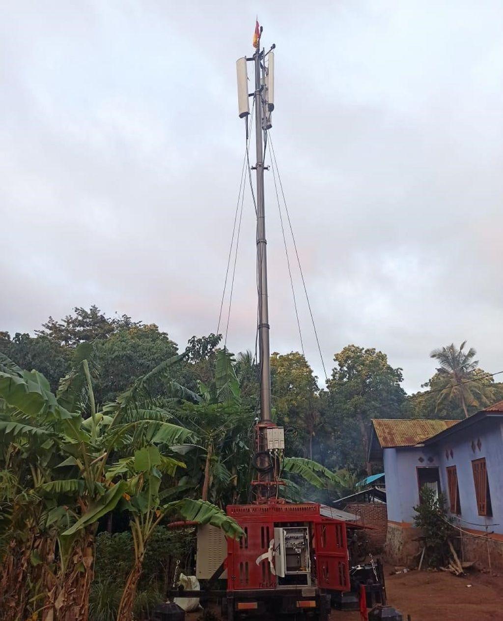 Telkomsel memperluas akses jaringan 4G di Di Desa Woloklibang, Kecamatan Adonara Barat, Kabupaten Flores Timur, Provinsi Nusa Tenggara Timur.