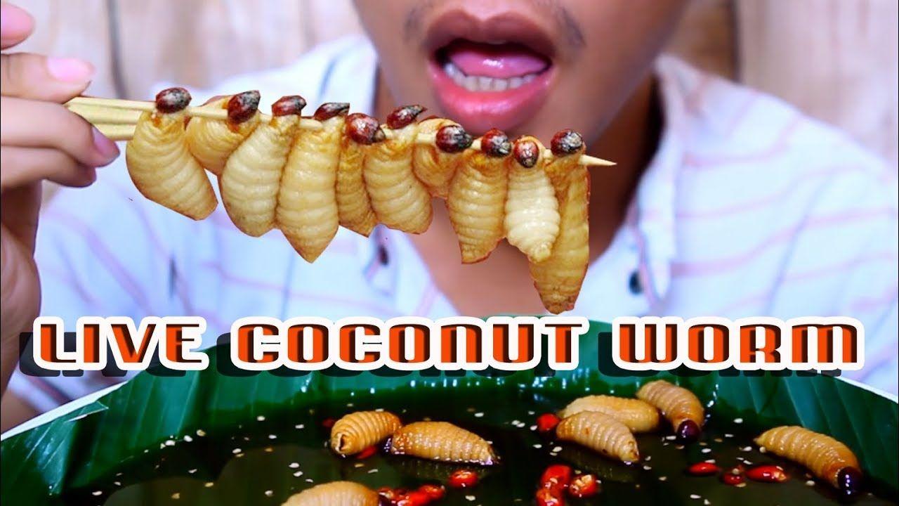 ASMR Video Pakai Makanan Eksotik