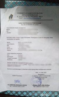Permohonan Surat Bebas Corona Di Blitar Melonjak Sambut New Normal Halaman 2