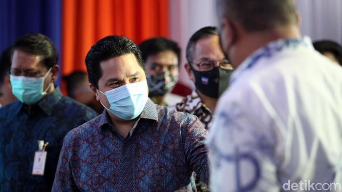 Menteri BUMN bersama Menhub dan Gubernur DKI Jakarta resmikan stasiun terpadu Tanah Abang. Keberadaan stasiun ini diharapkan dapat memudahkan mobilisasi warga.