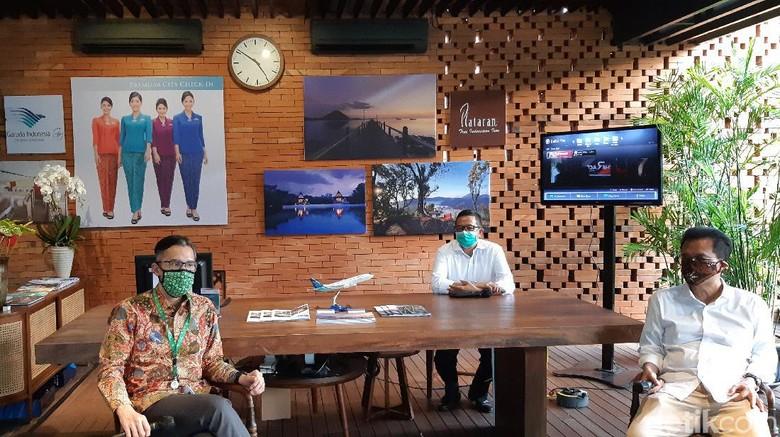 Garuda Premium City Check-In di Hutan Kota by Plataran