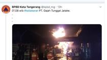 Gajah Tunggal Bantah Ada Kebakaran di Pabrik