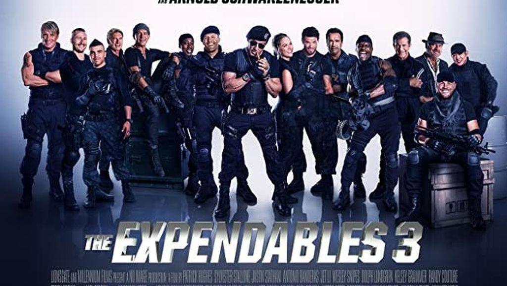 Sinopsis The Expendables 3 di Bioskop Trans TV dan Fakta Menariknya