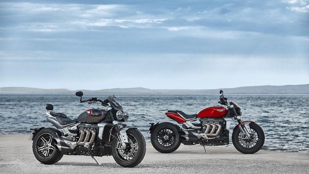 2 Moge Baru Triumph Mengaspal di RI: Mesin 2.500 cc, Harga Rp 750 Juta